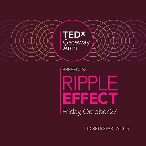 TEDx Gateway Arch event design