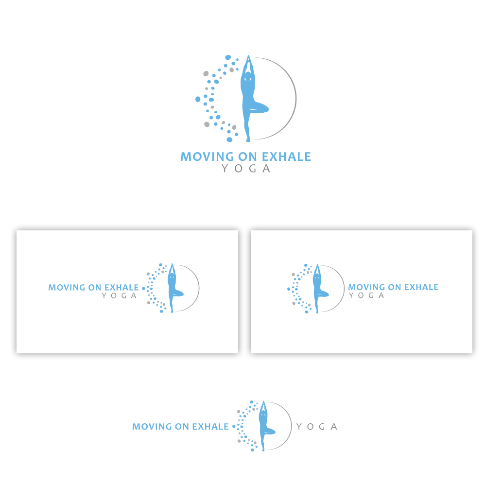Moving On Exhale Yoga needs a new logo