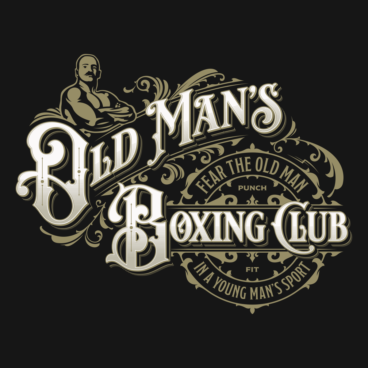 Old men boxing club
