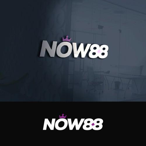 Now 88 logo design entry