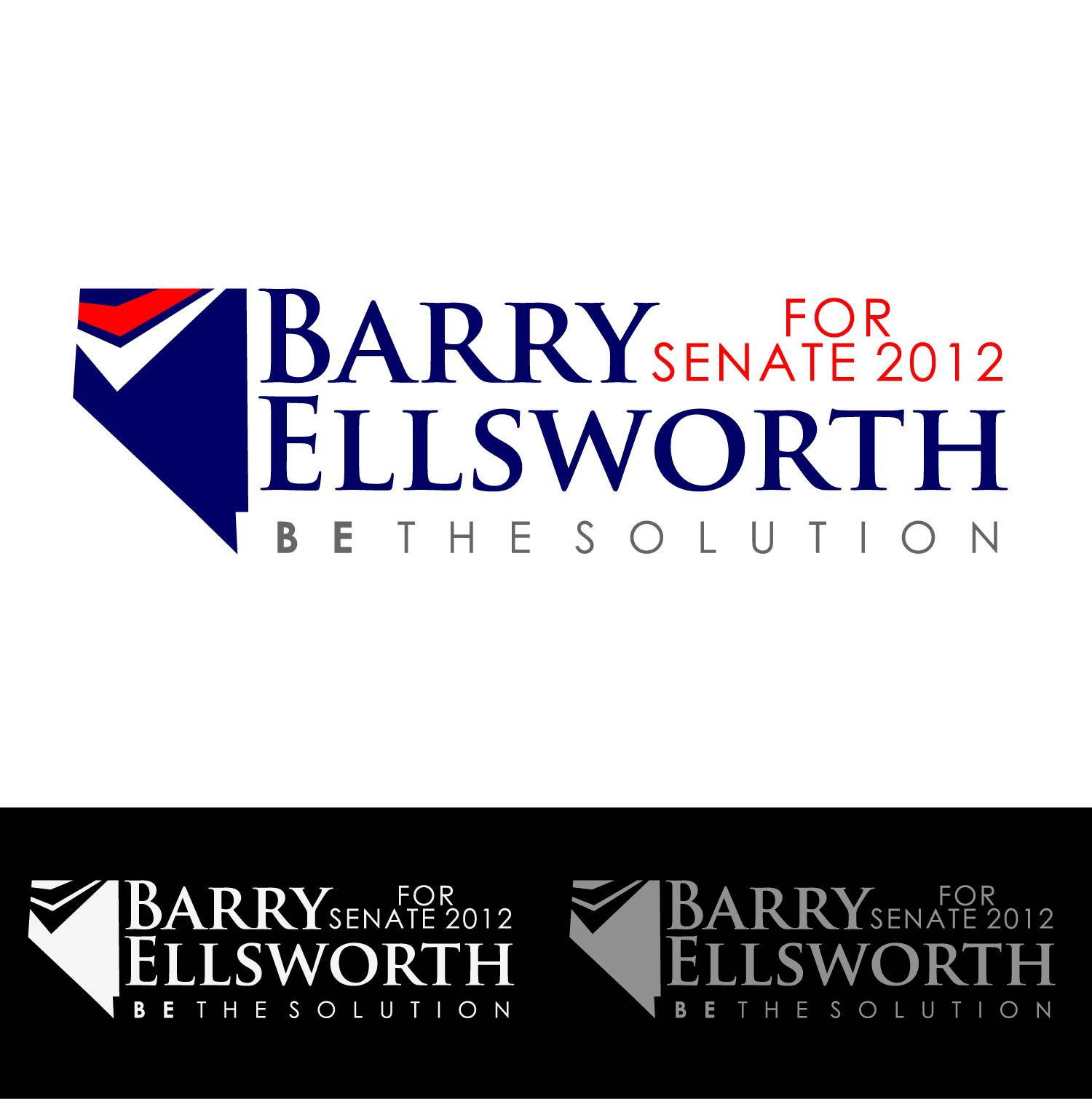 Help Barry Ellsworth for Senate 2012 with a new logo