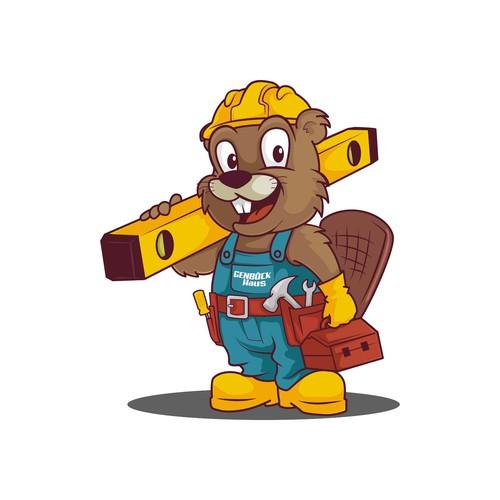 Mascot for a construction company in Austria