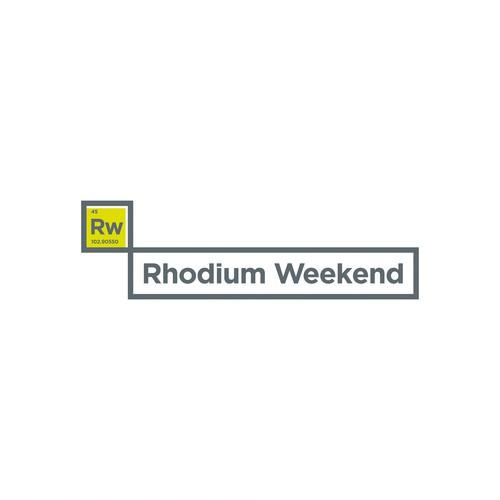 Rhodium Weekend Logo