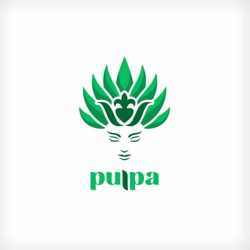 logo concept for Pulpa