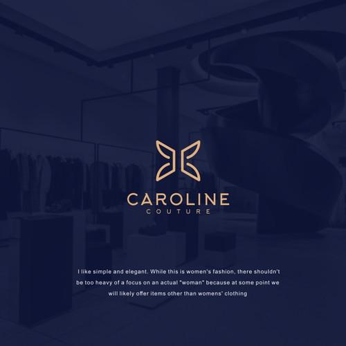 CAROLINE COUTURE logo