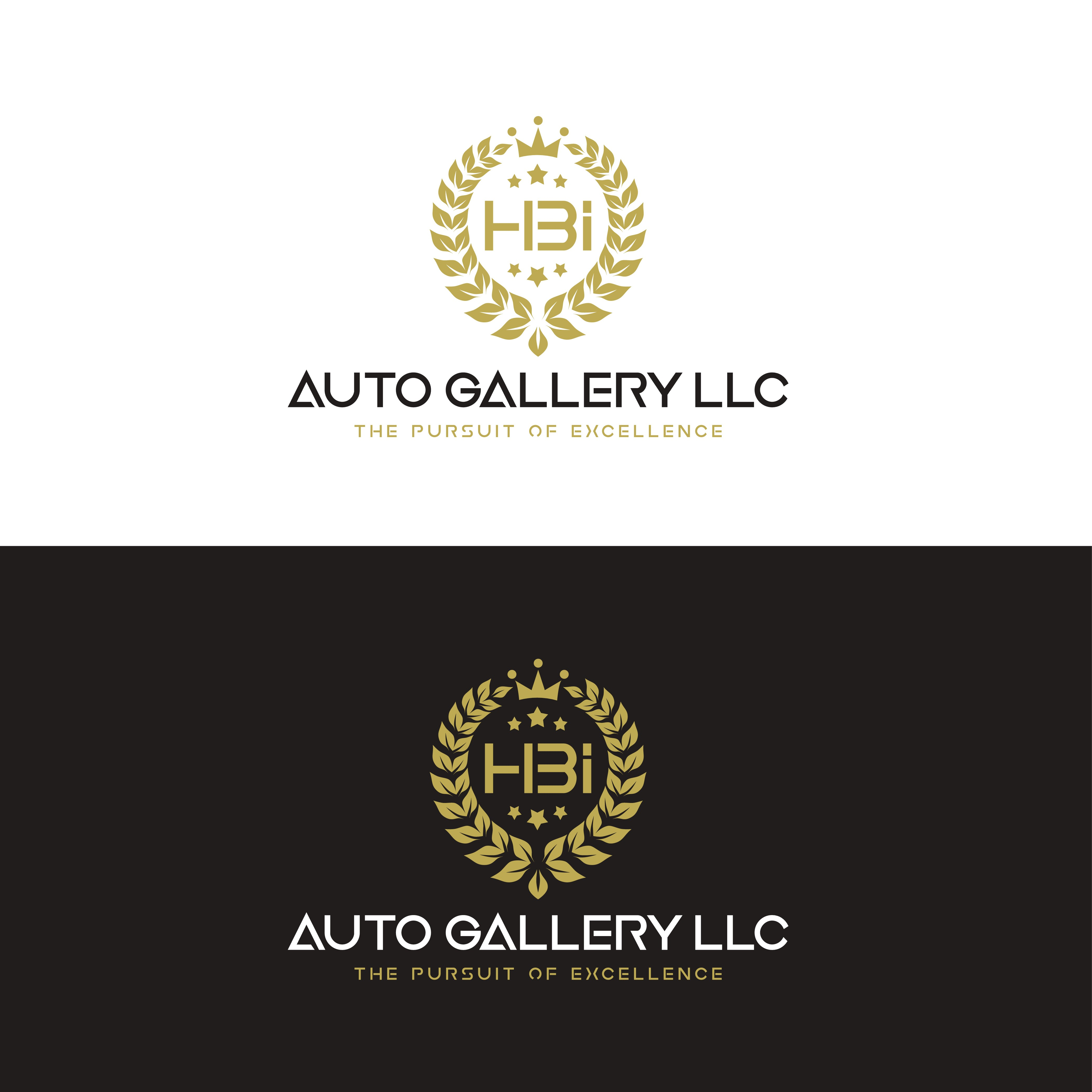 The design of an luxury automotive dealerships brand.