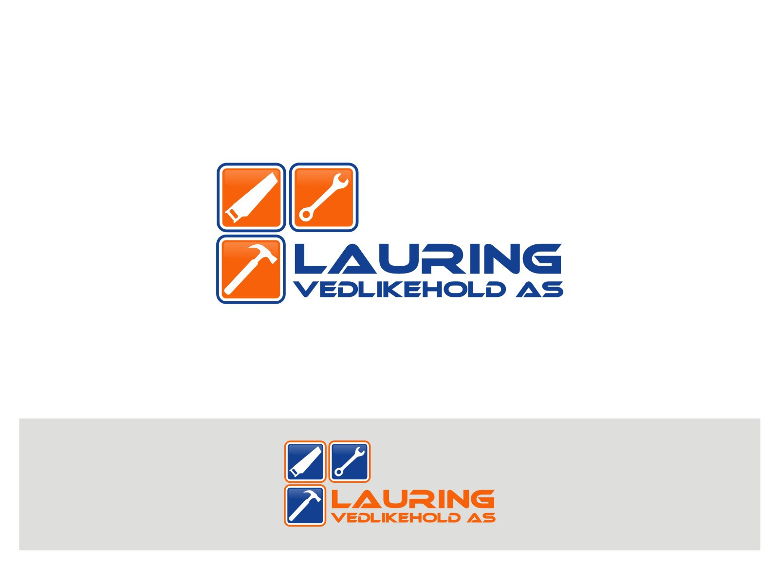 New logo wanted for Lauring Vedlikehold AS