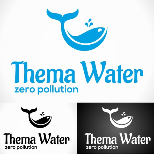 Create a logo for a water treatment company