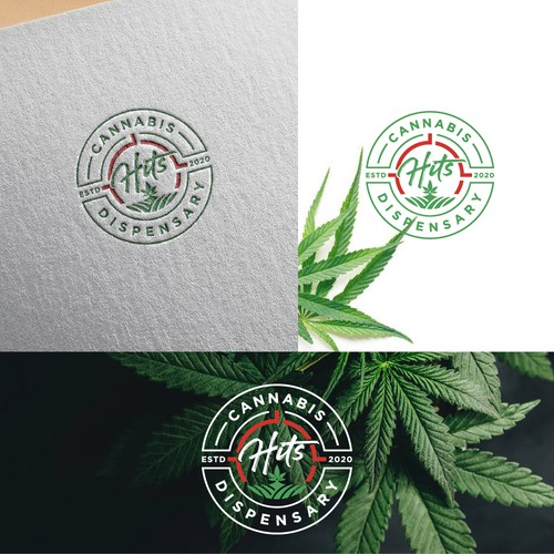 Logo for a Cannabis retail shop