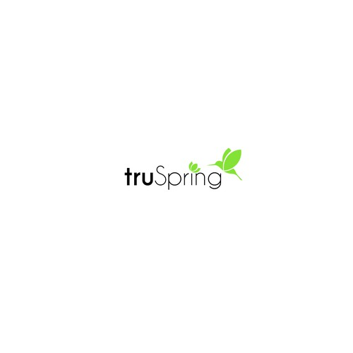 truSpring logo - simple, all-natural, healthy household products