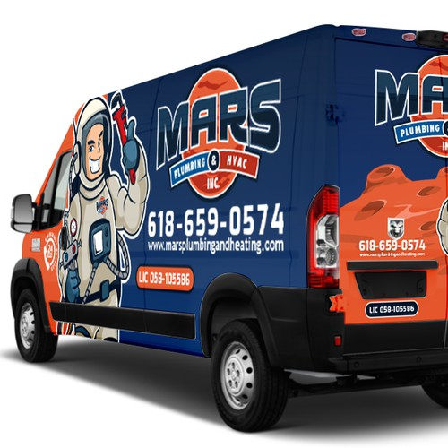 Van Wrap for MARS Plumbing and HVAC