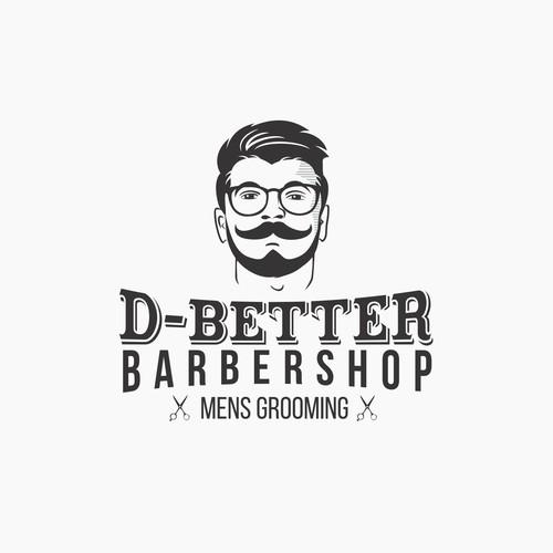 Logo for Modern Barbershop