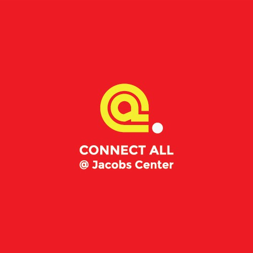 simple and meaningful logo conept for Connect All @ Jacobs Center