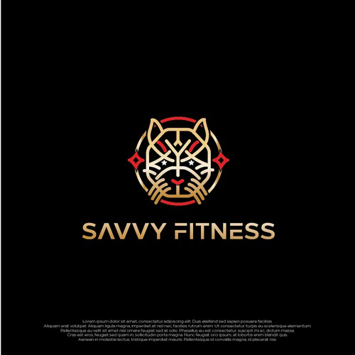 Iconic logo for Savvy Fitness