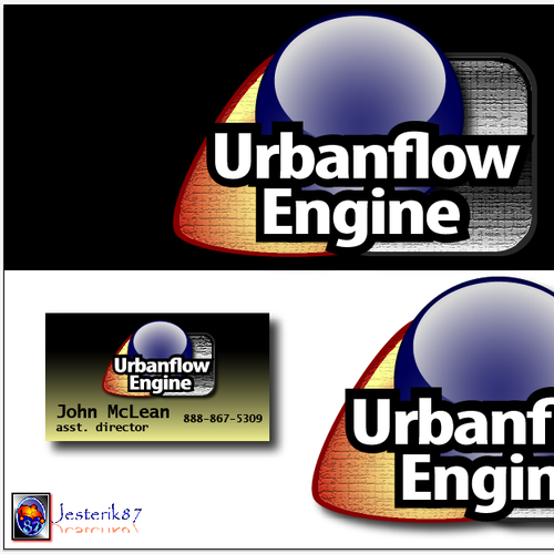 Help Urbanflow Engine (urbanflowengine.com)  with a new logo