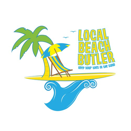 Help Local Beach Butler with a new logo