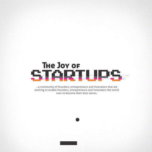 Awesome Classic (OR) Rad Energetic 80's Logo - The Joy Of Startups