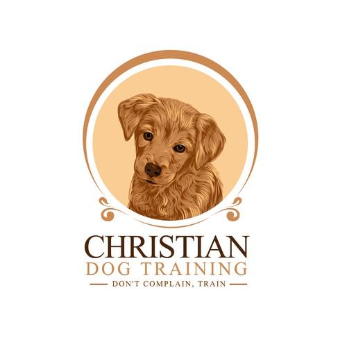 illustrative logo for Christian Dog Training