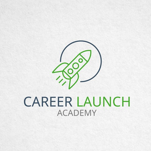Logo concept for Career Launch academy