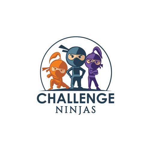 Logo for a fitness organization- Challenge Ninjas