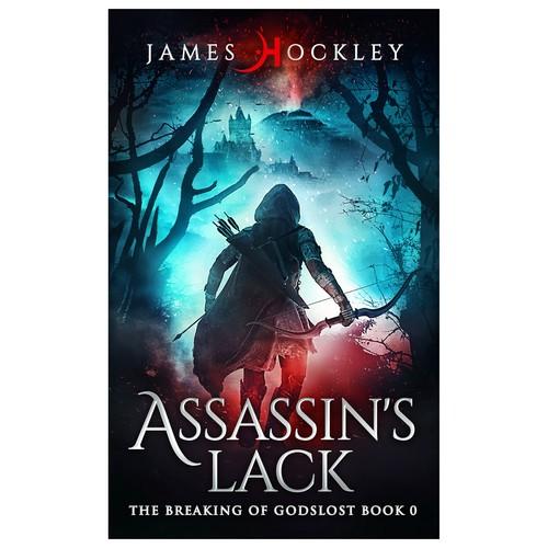 YA fantasy assassin book cover