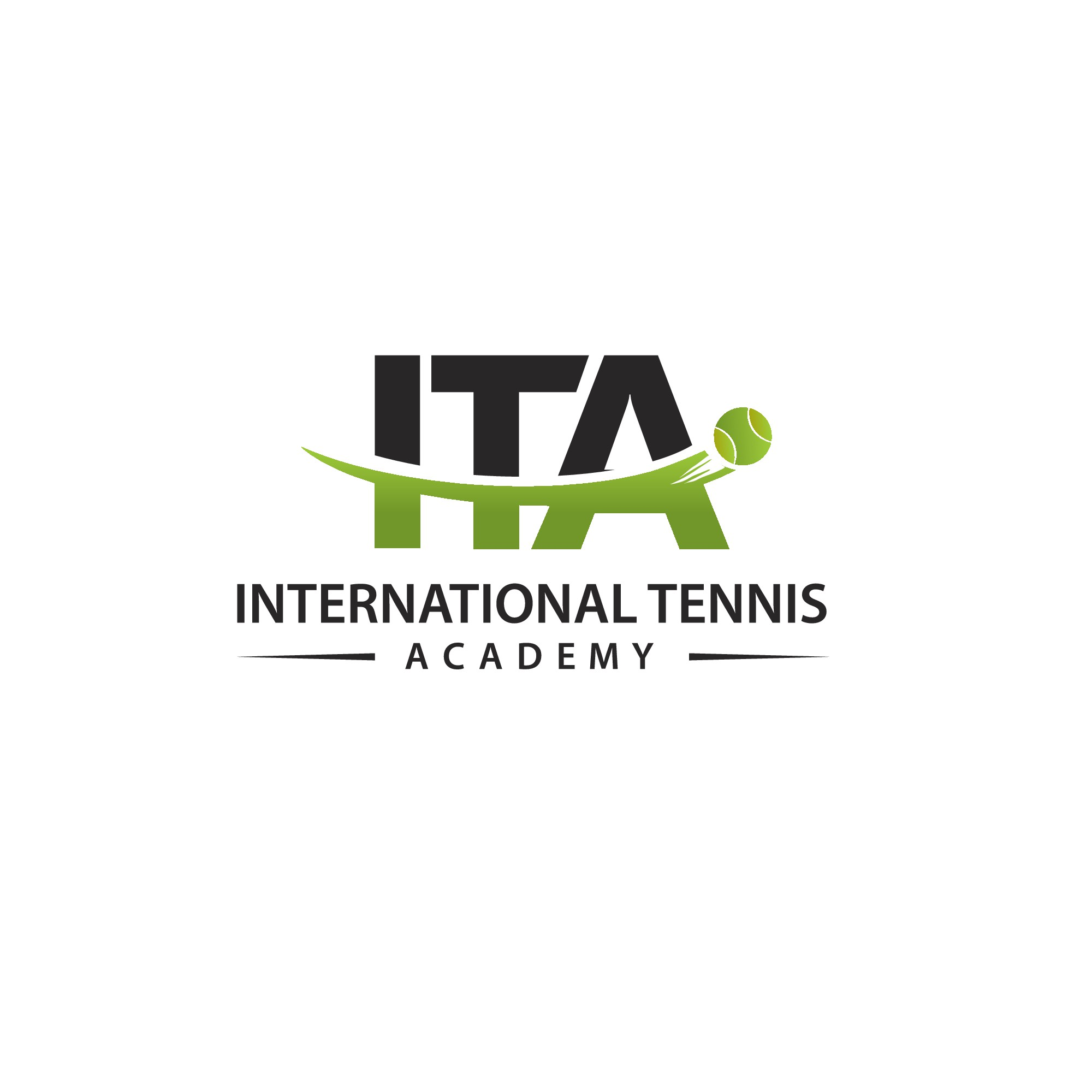 International Tennis Academy needs a logo to attract young Expats