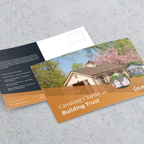 Postcard for real estate firm