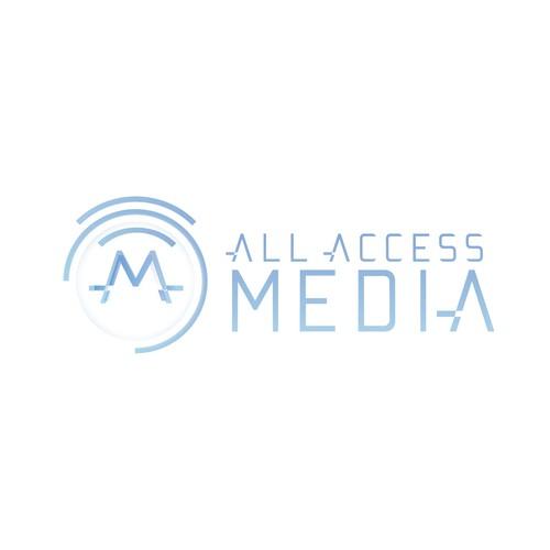 Powerful Media Company Logo