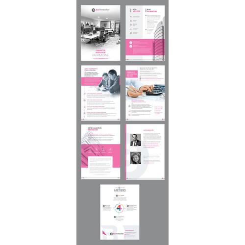 Web-Print - Plaquette de Présentation cabinet de Gestion Patrimoine