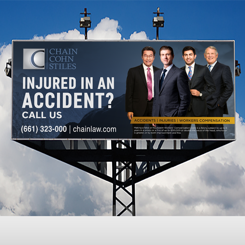 Bold Concept For Law Firm  Billboard