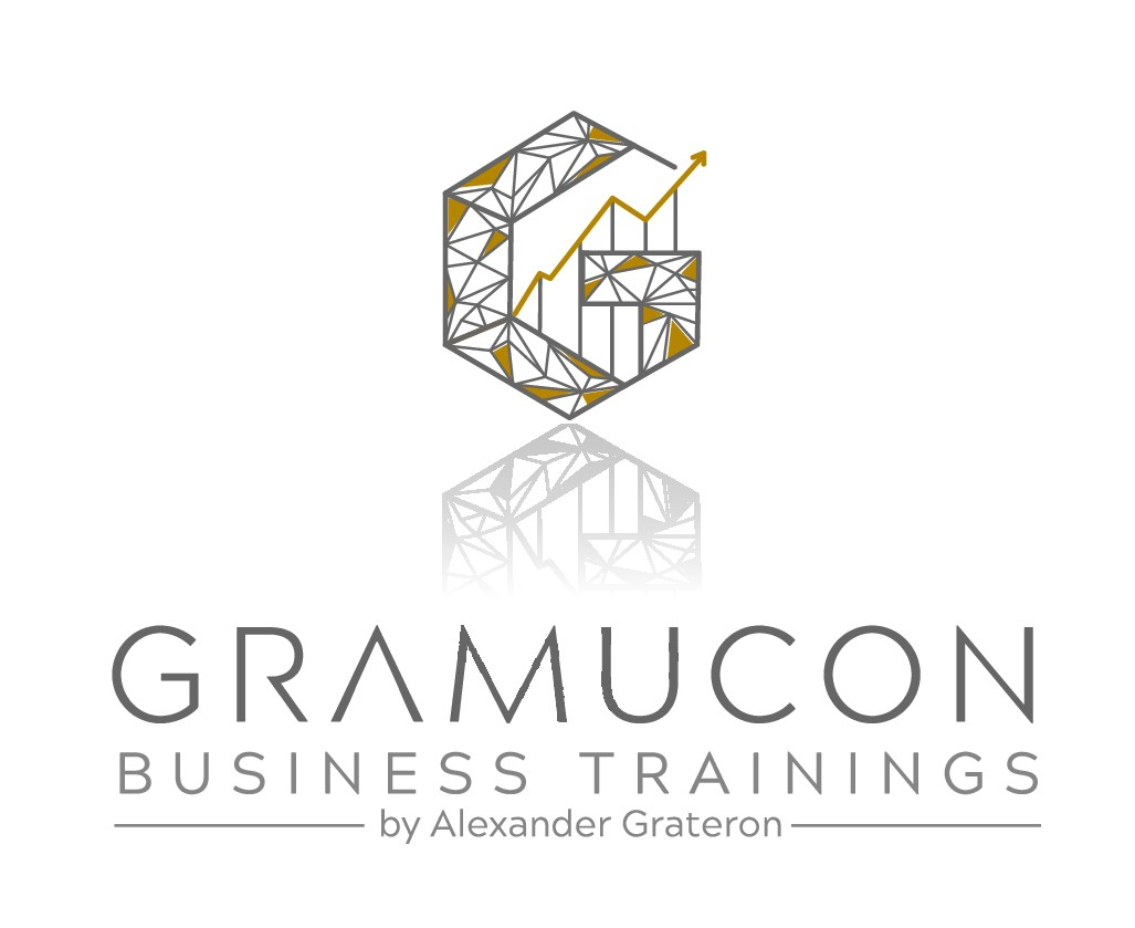 Modern Graphic logo for a BusinessTraining Startup one men Firm
