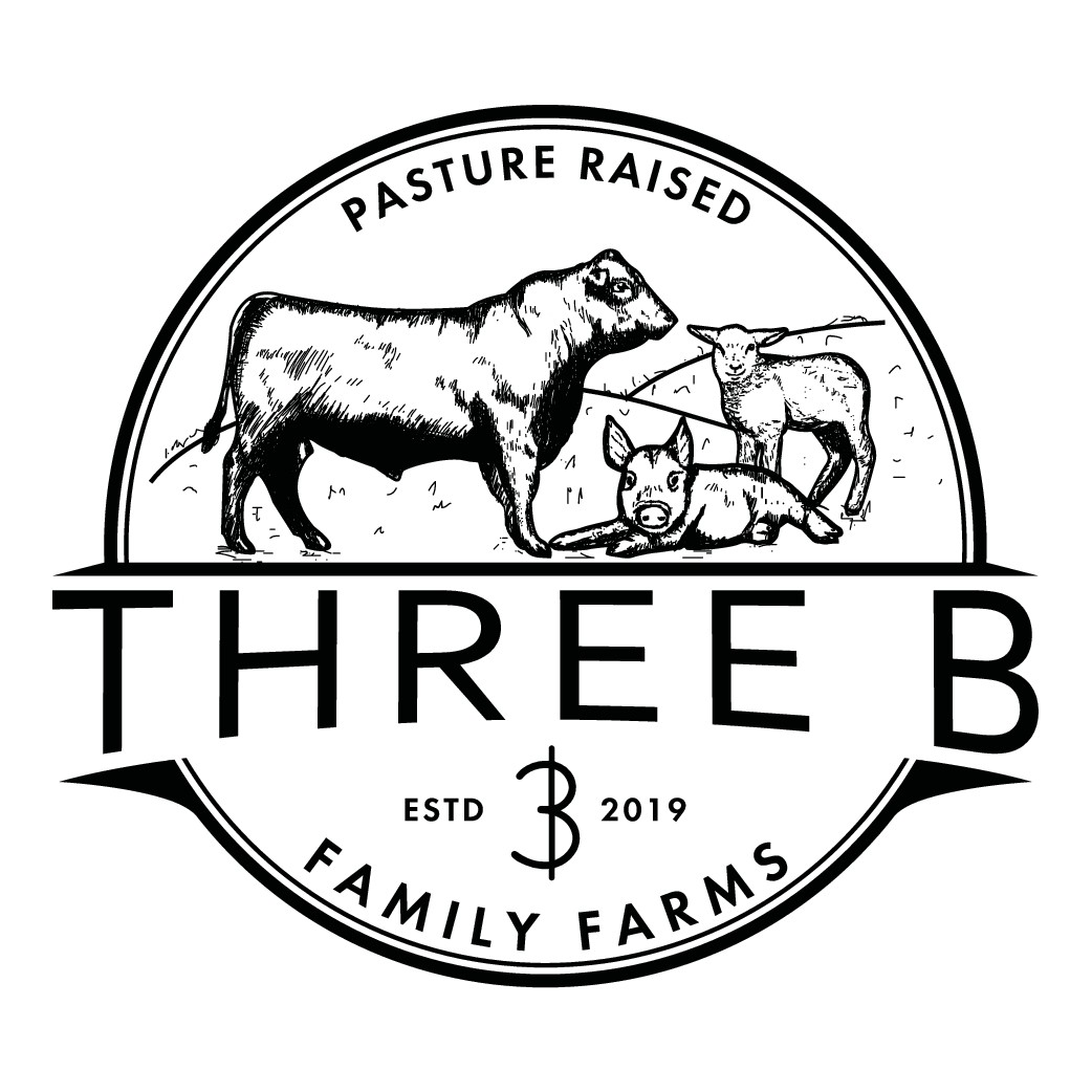Three B Family Farms needs a fresh logo as sustainable as their meat products