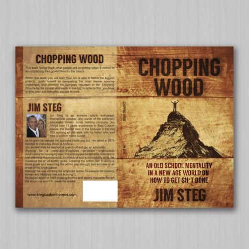 Chopping Wood  by Jim Steg