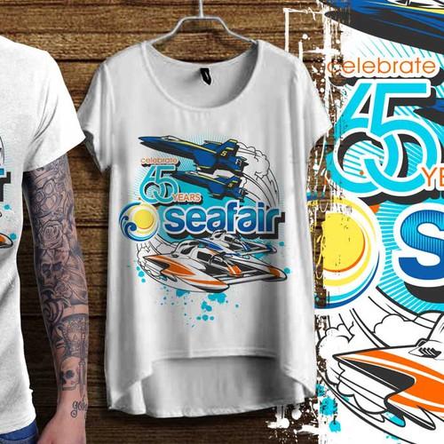 Seafair 65th Anniversary Event Shirt