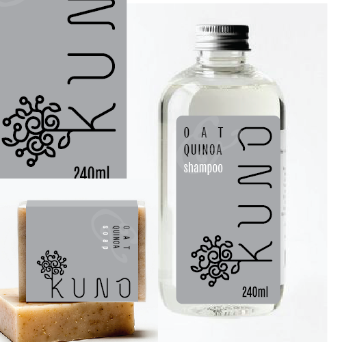 Label for Kuno cosmetics