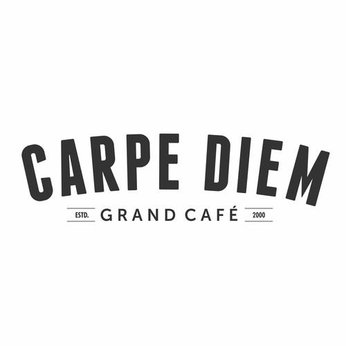 New Brand Identity for 'Carpe Diem, Grand Café