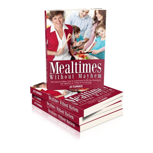 Help 'Mealtimes without Mayhem' with a new book cover