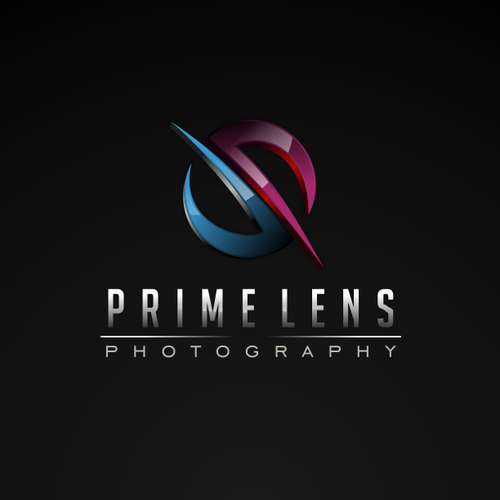 Play with stirring themes and rich colour for a logo for Prime Lens Photography!