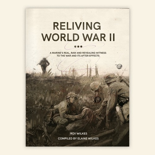Book cover about World War II