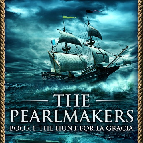 Book cover design - The Pearlmakers: The Hunt for La Gracia