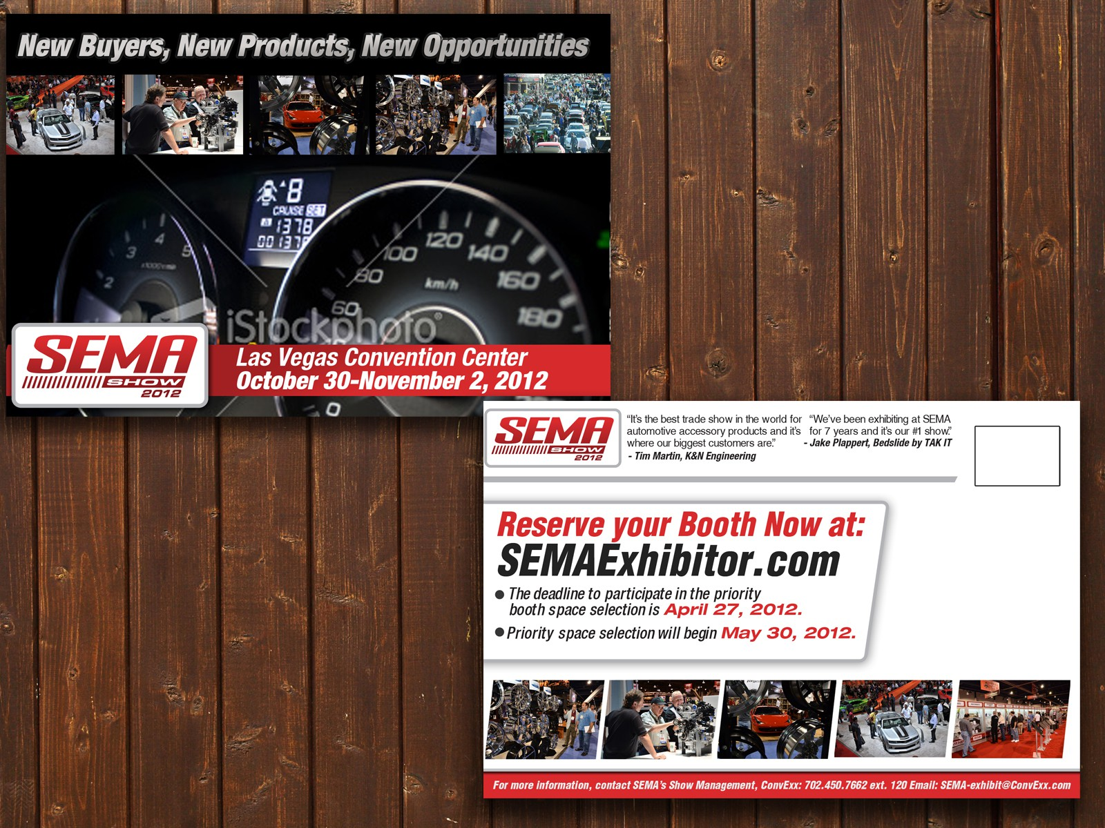 Create the next print or packaging design for Specialty Equipment Market Association (SEMA)