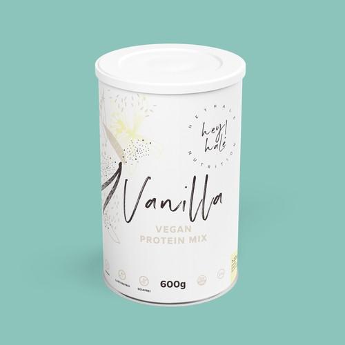 Heyhale Nutrition - Vanilla protein mix