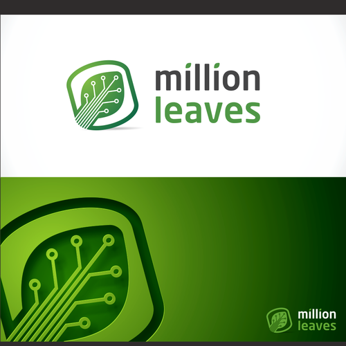 Million Leaves Logo