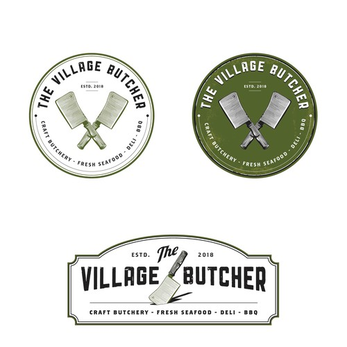 Logo for Artisan Butcher Shop just needs pro touch