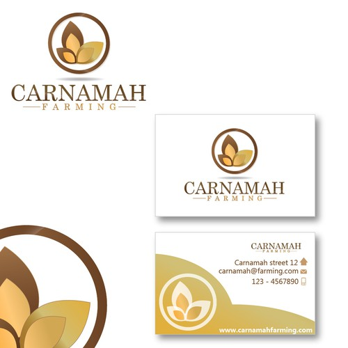 New logo and business card wanted for Carnamah Farming