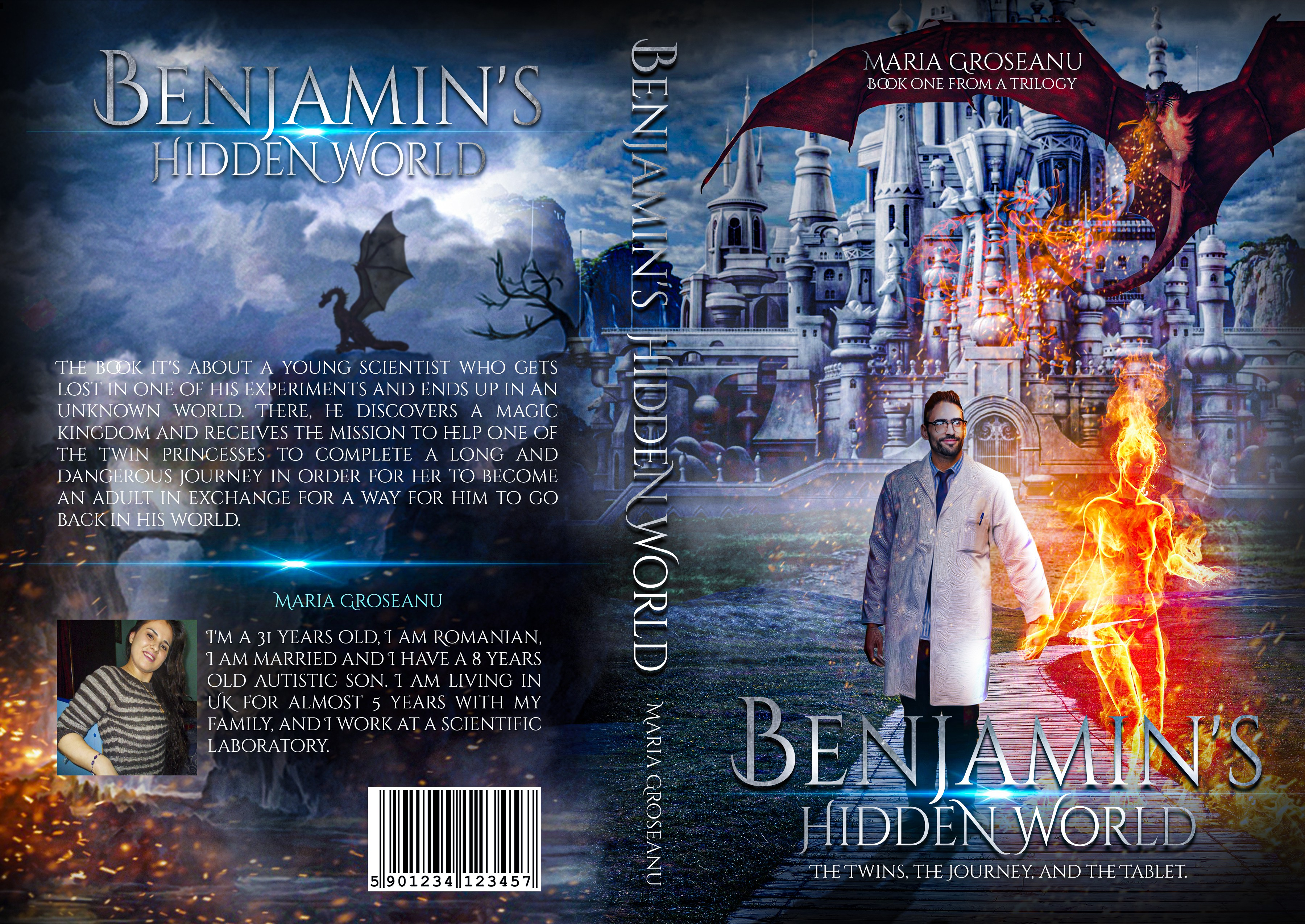 Intriguing Fantasy Novel