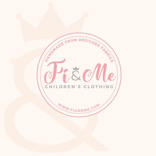 beautiful and sophisticated logo for the upscale Children's Clothing Brand