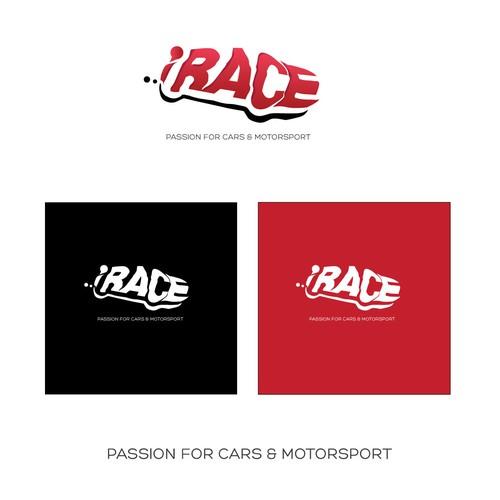 iRace Logo Design