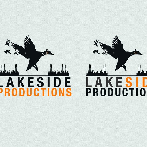 Create a vintage record & duck logo for music & entertainment company