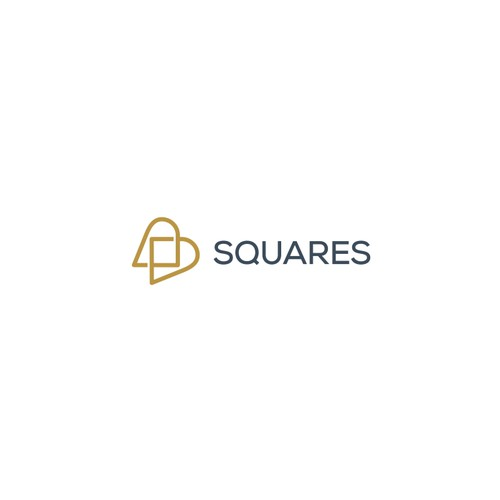 logo concept for Squares dental center